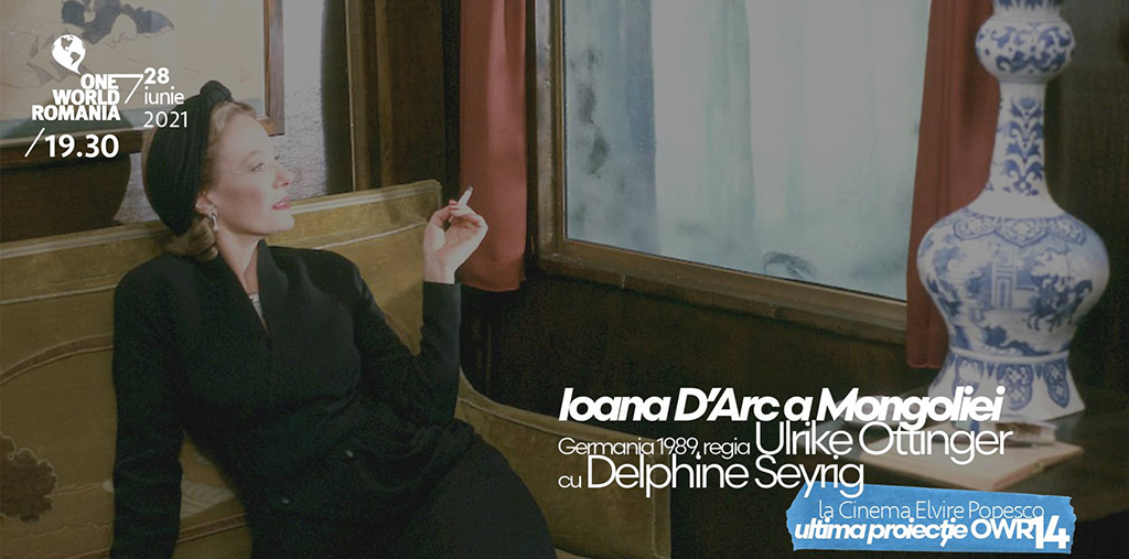 Ultimul film al lui Delphine Seyrig în ultima proiecție One World Romania din acest an
